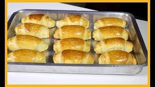 Pãozinho caseiro fácil e simples de fazer