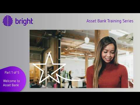 Asset Bank Training Series Part 1 - Welcome to Asset Bank