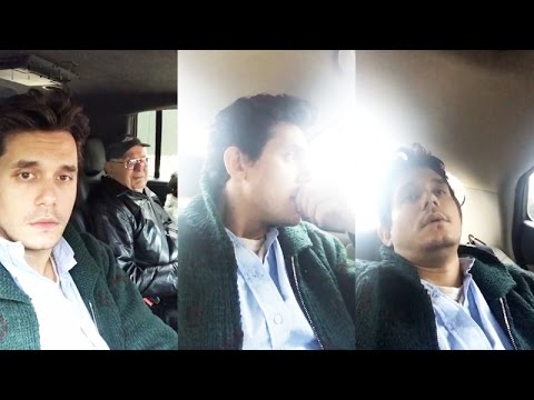 John Mayer Thanksgiving | Snapchat Videos | November 24 2016