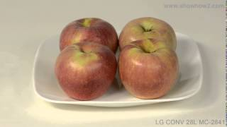 Lg Mc-2841sps Convection Microwave Oven - How To Make Baked Stuffed Apples