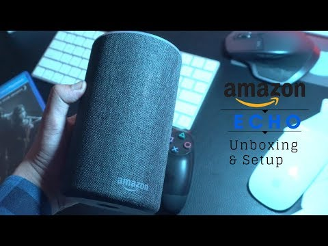 Amazon Echo India 2017 - Unboxing & Setup Gen 2 + iPhone X giveaway (Link in Description)