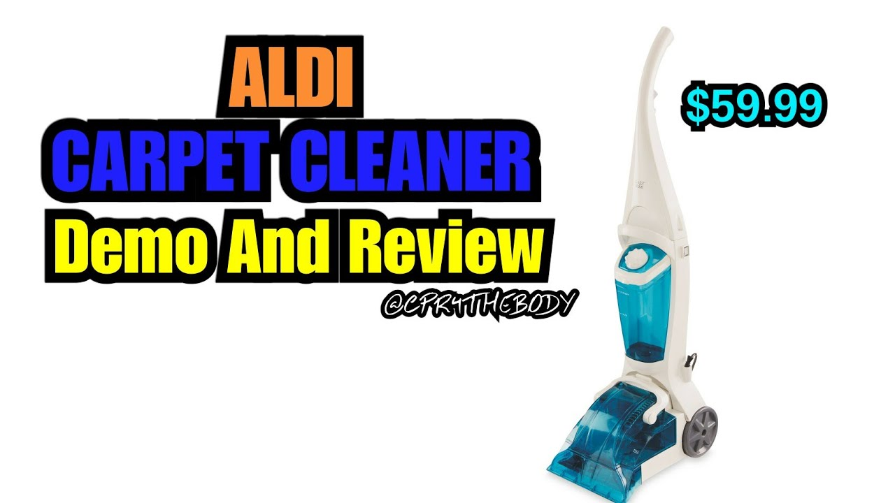 Aldi Carpet Cleaner Review And Demo!