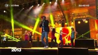Willkommen 2013  R.I.O. Feat. U-Jean (ZDF HD LIVE@121231 Berlin)