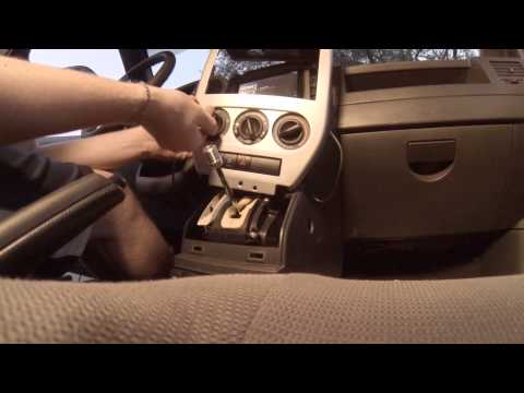 2008 Jeep Patriot Dash Center Console Disassembly