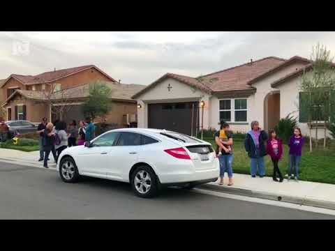 Thirteen siblings - some chained and starving - found in CA home; parents charged