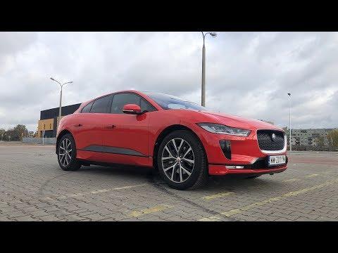 Jaguar i-Pace w Polsce test PL Pertyn Ględzi