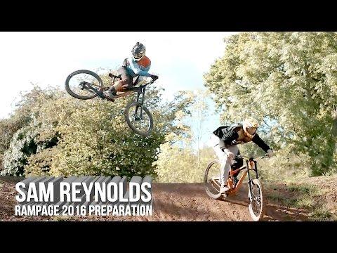 Redbull Rampage preparation | Sam Reynolds