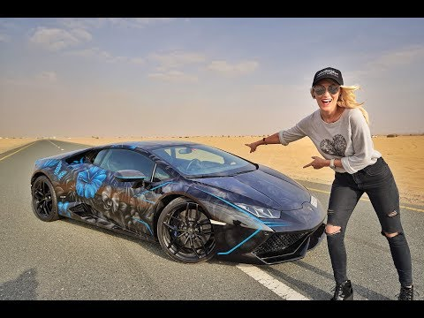 My Lamborghini Gets Crazy Make Over ft. Lucy