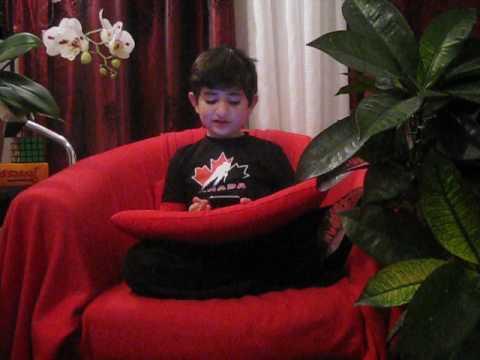 Conte Découverte d'un jeune enquêteur à Noël l'auteur Adrian Ghazaryan 8 ans Montréal