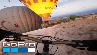 GoPro Awards: MTB with Hot Air Balloons in Cappadocia
