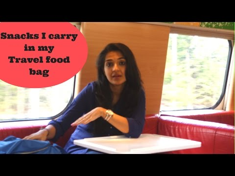 What's in My Travel Food Bag??