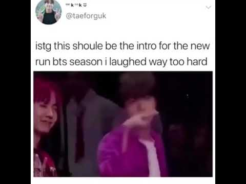 New Run BTS intro?