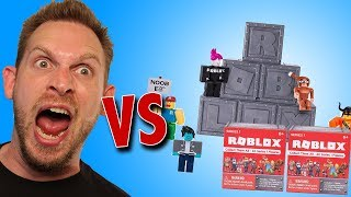 Roblox Série 1 Mystery Box Action Figures Unboxing