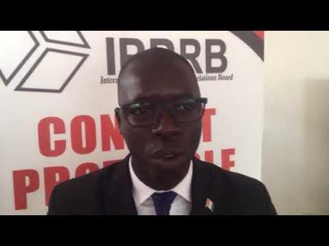 IPPRB Master Class Maison de la Presse Abj RCI. Interview Mr Yeo Gneneman Moussa Chef du Protocole