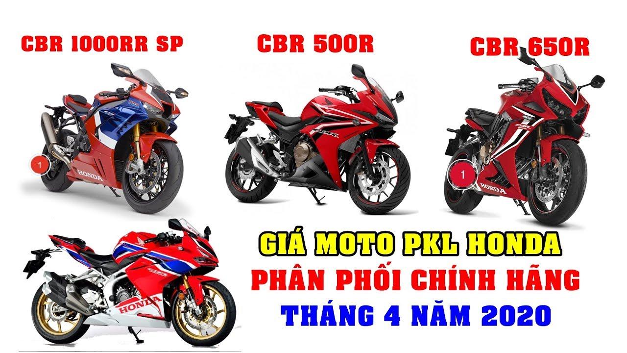 Giá Moto Honda T4 2020 CBR 1000RR | CBR 650R | CBR 500R | CBR 250RR chính hãng VN giá quá rẻ