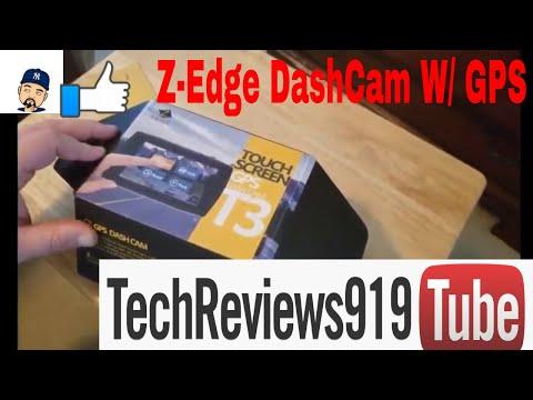 Z-Edge T3 DashCam With GPS