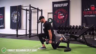 The Only Way You Should Be Doing Bulgarian Split Squats! (BUTT GROWTH)