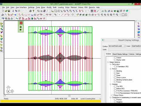 Reinforced and Post-Tensioned Concrete Slab Design Software