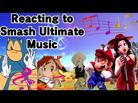 Reacting to Super Smash Bros. Ultimate's Music thumbnail