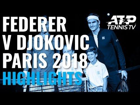 Extended Highlights: Roger Federer V Novak Djokovic, Paris 2018 Semi-Final