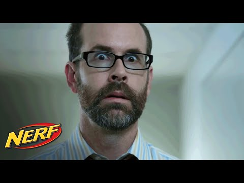 Funny or Die:  'Boss Left Out' - NERF on the Job