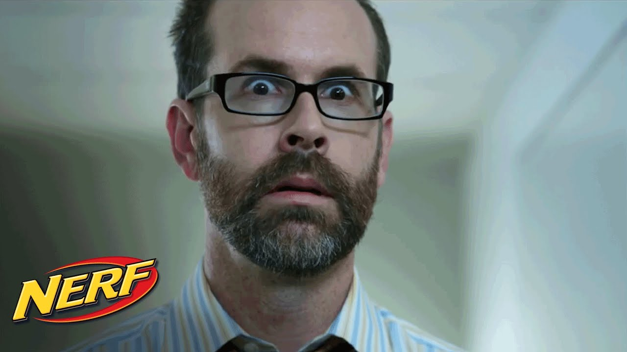 Download Funny or Die:  'Boss Left Out' - NERF on the Job