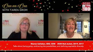 Sharon Callahan, CEO, CDM – 2020 PharmaVOICE 100 Celebration
