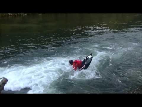2016 10 23 HIROSHIMA country eddy line free style kayak