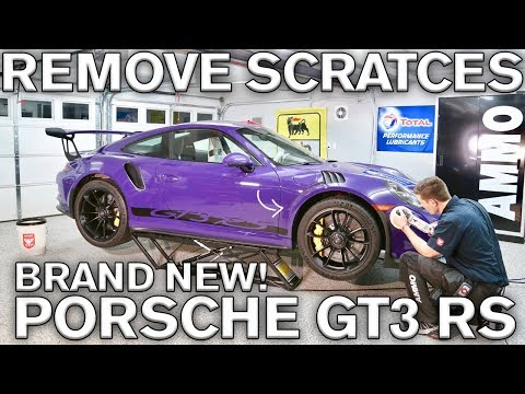 How to Remove Holograms, Buffer Trails: Porsche GT3 RS