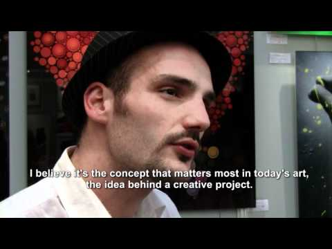 Short documentary TV3 - Art in Belgium - Ben Heine