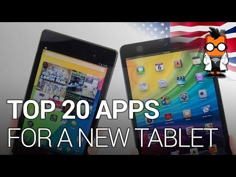 20 Best Apps For A New Tablet
