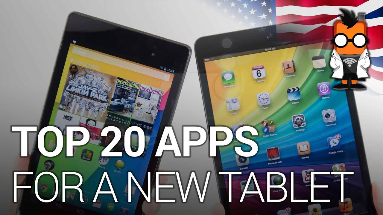 Best Apps For Your Tablet