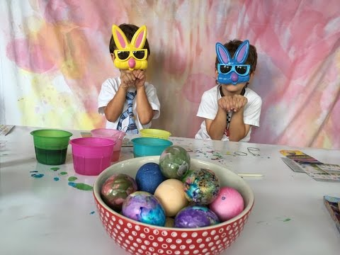 Painting Easter Eggs With Dollar Tree Supplies