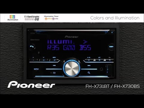 How To - FH-X731BT / FH-X730BS - Colors and Illumination