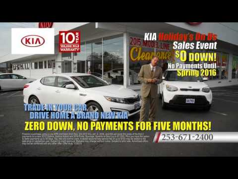 no payments for 5 months car pros kia tacoma youtube. Black Bedroom Furniture Sets. Home Design Ideas