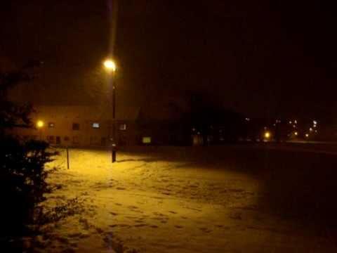 & Lightning Snow Storm - YouTube azcodes.com