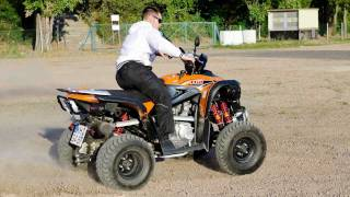 ATV Quad Bike - Freestyle Drifting