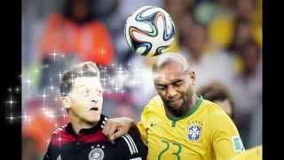 Brazil and Germany Highlight - Brazil 1 and 7 Germany