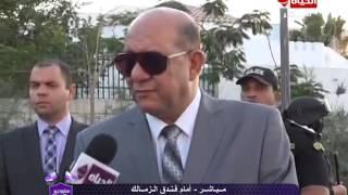 بالفيديو..مدير أمن السويس يتفقد الحالة الامنية حول استاد الجيش