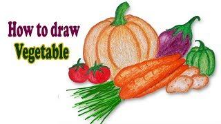vegetable draw easy step bong