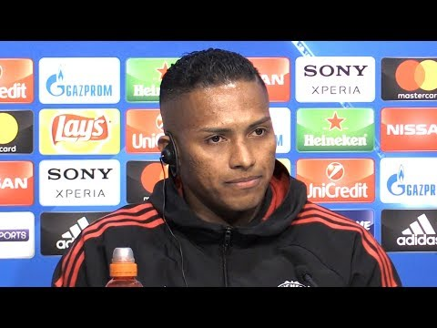 Antonio Valencia Full Pre-Match Press Conference - Sevilla v Manchester United - Champions League