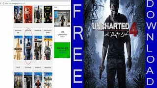 HOW TO  DOWNLOAD FREE PS4  GAMES FROM PC  | 100 % WORK