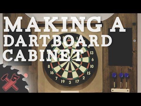 Building A Dartboard Cabinet You