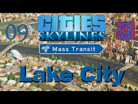 Tourist Town (Airport) : Cities Skylines Mass Transit Gameplay : #09