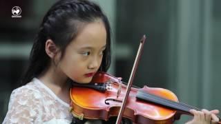 Biệt tài tí hon | Bé gái xinh như thiên thần vừa đánh đàn piano vừa chơi violon siêu đỉnh