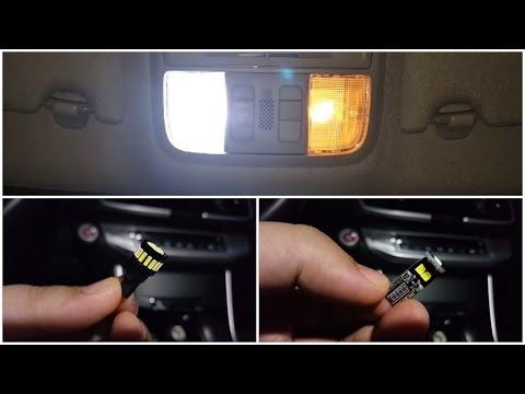 JDMastar T10 194 LED bulb comparison (Bright Pure White)
