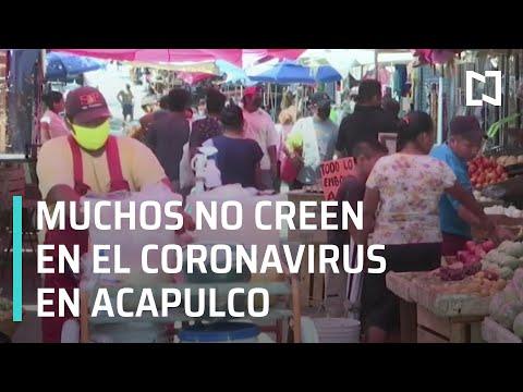 Muchas personas no creen en el coronavirus en Acapulco - Las Noticias