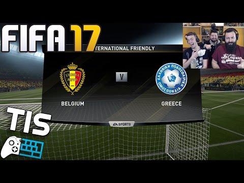 Βέλγιο - Ελλάδα | 25/3/2017 - FIFA 17