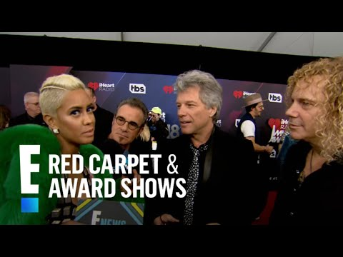 Bon Jovi Gushes Over Receiving 2018 iHeart Radio Icon Award | E! Live from the Red Carpet