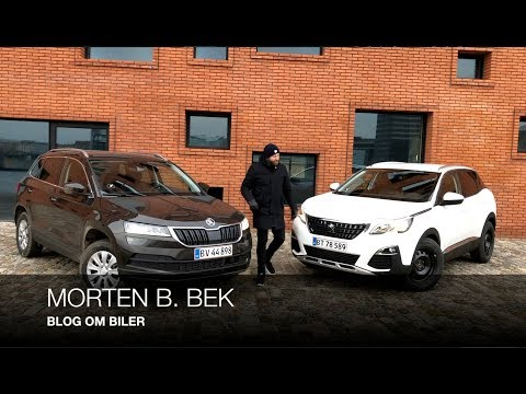 DUEL Peugeot 3008 vs Skoda Karoq (DK)
